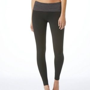 Aerie Slim Gym Skinny Leggings Sparkle Waistband L